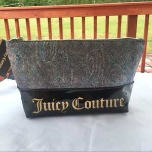 New Juice Couture Cosmetics pyramid Bag